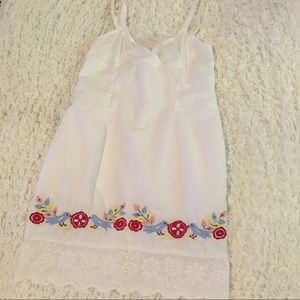 Charlotte Russe Embroidery Dress